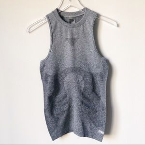 NWT Gymshark Ombré Seamless Vest in Gray